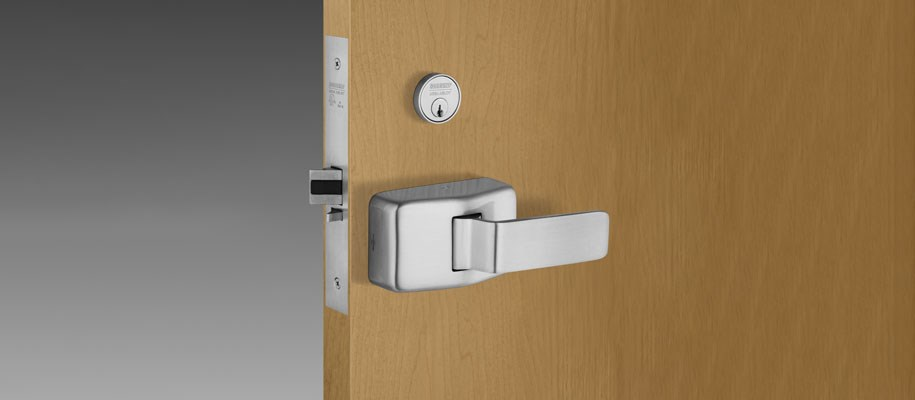 7800 Mortise Lock with Push/Pull Trim (PT)